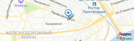 Эк`сид на карте Ростова-на-Дону