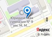 Юридическая гимназия №9 им. М.М. Сперанского на карте