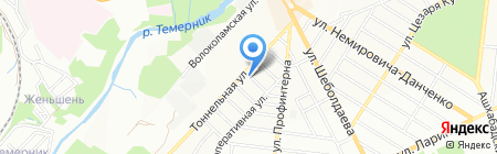 Вертикаль на карте Ростова-на-Дону