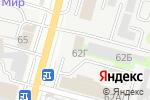 Схема проезда до компании Кавсантехмонтаж в Ростове-на-Дону
