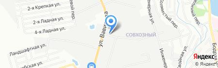 ОЛДОС на карте Ростова-на-Дону