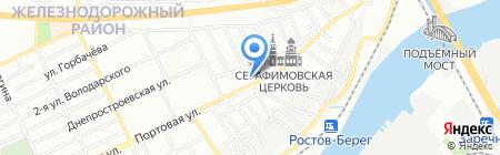 У Вики на карте Ростова-на-Дону