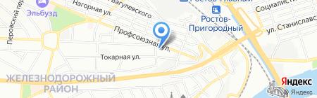 Стандарт 1 на карте Ростова-на-Дону