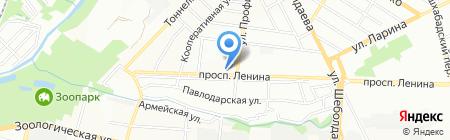 Детский сад №204 Мотылек на карте Ростова-на-Дону