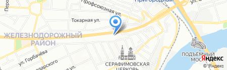 Фабрика дышащих окон на карте Ростова-на-Дону
