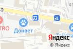 Схема проезда до компании Арт-Лайн в Ростове-на-Дону