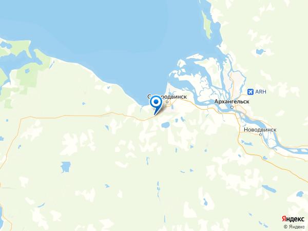 СНТ Три сосны на карте