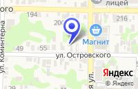 Схема проезда до компании ФИЛИАЛ ЮРИДИЧЕСКИЙ ТЕХНИКУМ в Усть-Лабинске