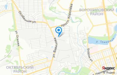 Местоположение на карте пункта техосмотра по адресу г Ростов-на-Дону, пер Изыскательский, д 2