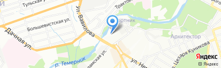 Детский сад №270 Темерничок на карте Ростова-на-Дону