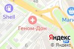 Схема проезда до компании Неон Мастер в Ростове-на-Дону