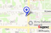 Схема проезда до компании ХЛЕБОЗАВОД РУСЬ в Усть-Лабинске