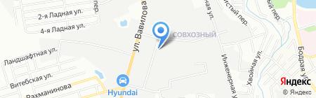 Жалюзи-161 на карте Ростова-на-Дону