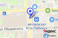 Схема проезда до компании ФОТОСАЛОН ТИХОНОВ в Усть-Лабинске