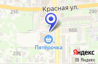 Схема проезда до компании КРАСНОДАРСКИЙ ФИЛИАЛ ВСК в Усть-Лабинске