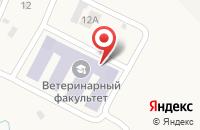 Схема проезда до компании Ветеринарный клинико-диагностический центр в Молочном