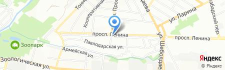 Радуга подарков на карте Ростова-на-Дону
