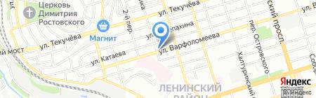 ТЕГОЛА-ЮГ на карте Ростова-на-Дону