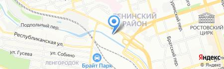 Магазин оборудования на карте Ростова-на-Дону