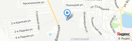 Надежные конструкции на карте Ростова-на-Дону