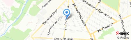 Школяр на карте Ростова-на-Дону