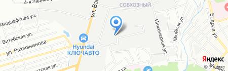 Хилти Дистрибьюшн ЛТД на карте Ростова-на-Дону