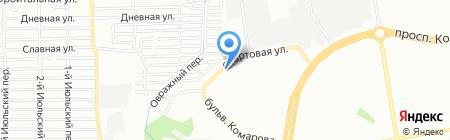 Радуга продуктов на карте Ростова-на-Дону