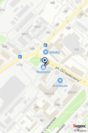МИТРА на карте Рязани