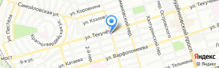 Дельтафорт на карте Ростова-на-Дону