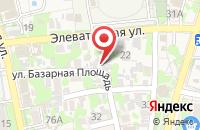 Схема проезда до компании Крона в Астрахани