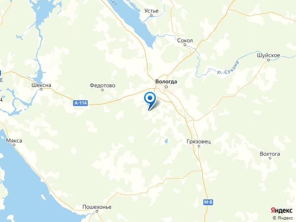 деревня Богородское на карте