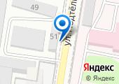 Мегаполис Ростов на карте