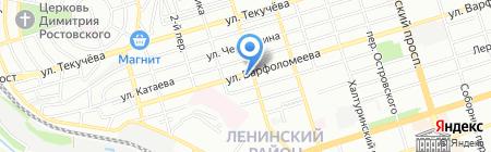 Мангал на карте Ростова-на-Дону