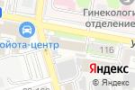 Схема проезда до компании Экоклимат в Ростове-на-Дону