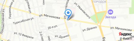 Призма на карте Ростова-на-Дону