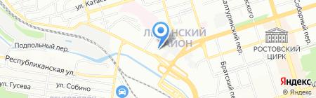 НорМоторс на карте Ростова-на-Дону