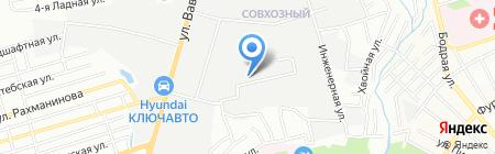Современные окна на карте Ростова-на-Дону