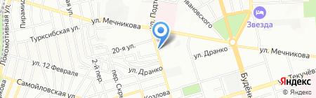 Косметик Юг на карте Ростова-на-Дону