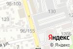 Схема проезда до компании Канцелярский мир в Ростове-на-Дону