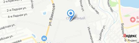 Стрим на карте Ростова-на-Дону