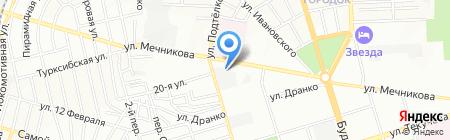 Базис на карте Ростова-на-Дону