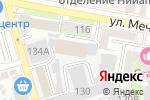 Схема проезда до компании Альянс Телеком в Ростове-на-Дону