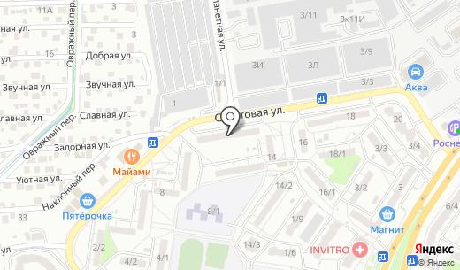 Орион-8. Схема проезда в Ростове-на-Дону