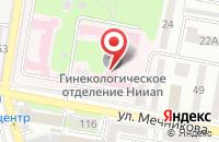 Схема проезда до компании Мединфос в Ростове-На-Дону