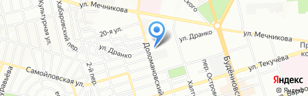 РостАвтоПрокат на карте Ростова-на-Дону