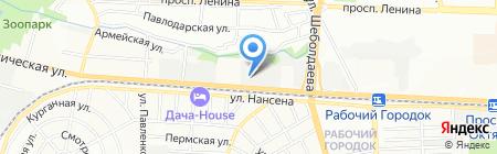 КДМ на карте Ростова-на-Дону