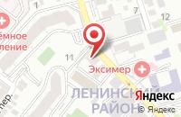 Схема проезда до компании Гелта в Ростове-На-Дону