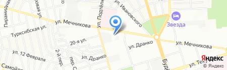 Магазин №17 на карте Ростова-на-Дону