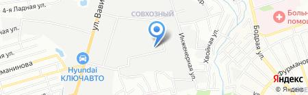 КранСтройЗапчасть на карте Ростова-на-Дону