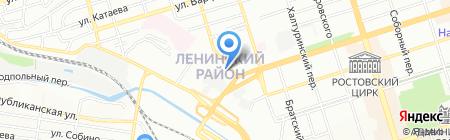 Тандем-Ростов-на-Дону на карте Ростова-на-Дону